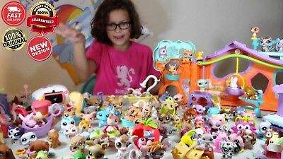 new collection Hasbro Littlest Pet Shop Collection LPS Shorthair Kitty Cat Rare