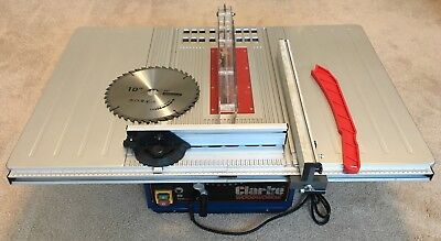 """USED Clarke CTS10D 10"""" (254mm) Table Saw"""