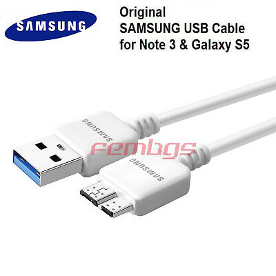 New Original OEM Samsung Galaxy Note3 S5 USB 3.0 Data Sync Charger Cable