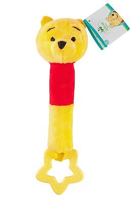 Spielzeug Reasonable Disney Baby Winnie The Pooh Biter Baby Stuffed Doll Squeeze Soft