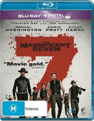 The Magnificent Seven (Blu-ray, 2016)