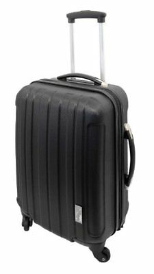 Cabin Max Spinner Black Hard Case Carry On Trolley Bag Travel Luggage Suitcase