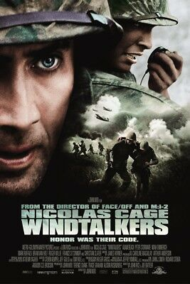 WINDTALKERS MOVIE POSTER 2 Sided ORIGINAL Ver B 27x40 NICOLAS CAGE