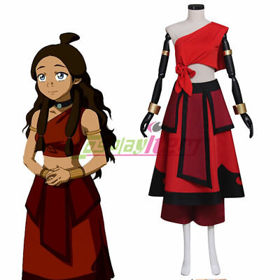 Custom made Avatar The Last Airbender Katara Dress Adult Womens cosplay costume