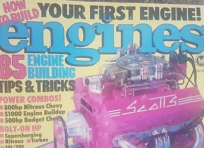 Engines Magazine 1990 Vol 4 #4 HOW TO BUILD YOUR ENGINE. 85 TIPS. USA