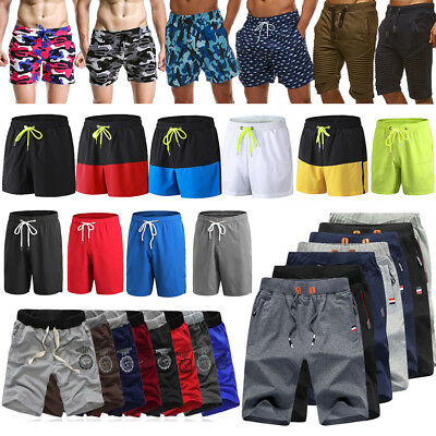 Men's Summer Breathable Shorts Gym Sports Running Sleep Casual Short Pants Lot