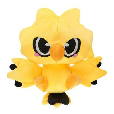 Pokemon Center Zapdos Plush Doll Stuffed Figure Soft Collection Toy 12 inch Gift