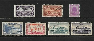 LEBANON mixed collection No.8, from 1930