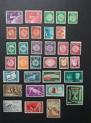 Israel stamps mint & used