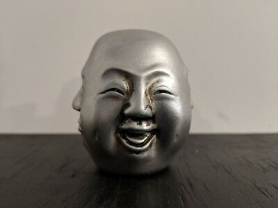 The Four Faces of Life Spiritual Paper Weight Buddha Emotions of a Humans Life