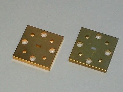 ZAX MILLIMETER 75-110 GHz w band Microwave WAVEGUIDES WR10 2.5mm OPEN pieces 2