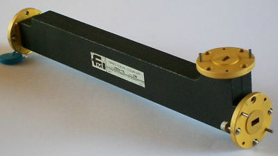 FMI FLANN MICROWAVE waveguide directional coupler 10db WR22 33-50 ghz not HUGHES
