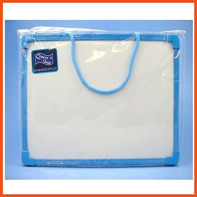 12 x MAGNETIC DRY ERASE WHITE BOARD 24x34cm | Lightweight Portable Memo Board