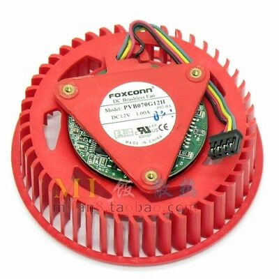 For FOXCONN PVB070G12H 1.00A 4Pin Turbo Graphics Fan