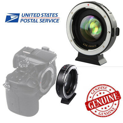 VILTROX EF-M2 Auto Focus Adapter 0.71x Aperture For Canon EF Lens to M43 M4
