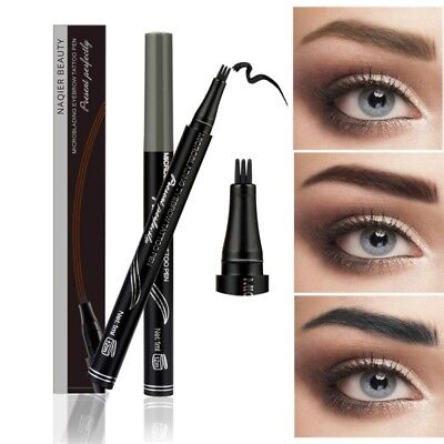 Microblading Sourcil Tattoo Stylo Fourchette Fork Tip Patented Makeup Ink Sketch