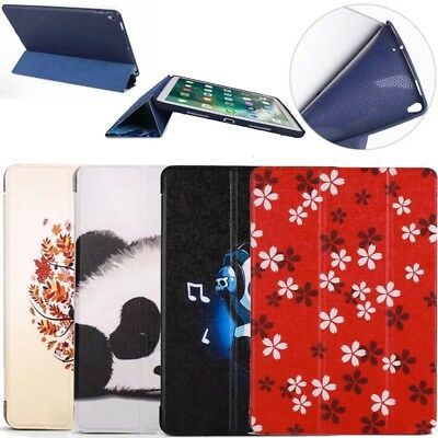 Shockproof Painted PU leather Tpu Smart Case for ipad air Pro 11 9.7 10.5 mini 4