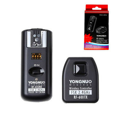 Yongnuo RF-602 Wireless Remote Flash Trigger with Receivers for Canon Camera US