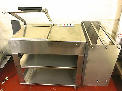 """L sealer 17"""" seal stainless steel FULLY SERVICED 3 mnth wrnty bakery equipment"""