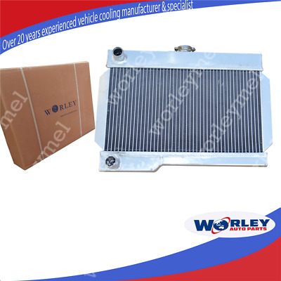 56MM ALLOY ALUMINUM RADIATOR for ROVER MG/MGB-GT Mannual NIB MG MGB