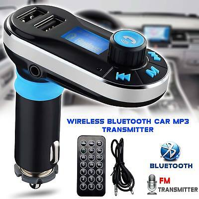 New Wireles Bluetooth Car Kit FM Transmiter Radio MP3 Music Player With USB Port
