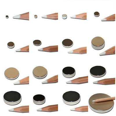 Round Magnets Permenent Magnets Mini Circular Disc Multi-specification