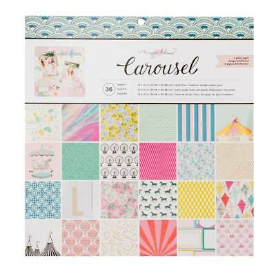 NEW American Crafts Maggie Holmes Carousel Paper Pad By Spotlight