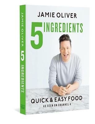 5 Ingredients - Quick & Easy Food by Jamie Oliver (English) Hardcover