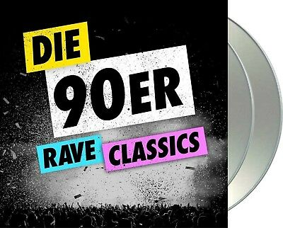 "Various Artists ""die 90er - Rave Classics vol.1"" 2CD NEU Techno-,Trance-Classics"