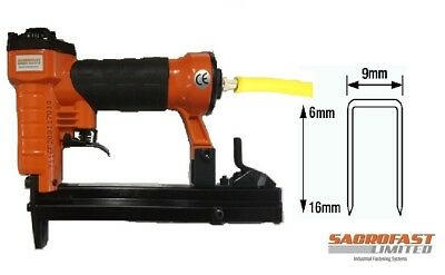 Sacrofast Sf7116F Upholstery Air Stapler 6-16Mm
