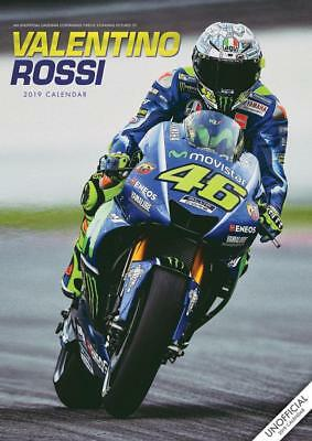Valentino Rossi Calendar 2019 Large A3 Wall Poster Size New By Red Star