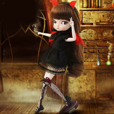 35cm Flexible BJD Girl Doll Full Set Gift Box Childrens Adults Collection #F