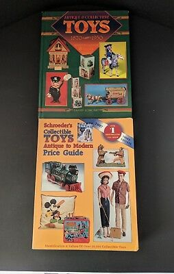 Lot of 2 Collectible Toys Price Guides - 1997 Schroeders & Longest