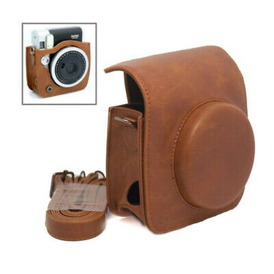 For Fujifilm Instax Mini 90 NEO Classic Camera Protective Pu Leather Carry Case