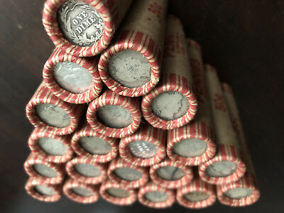 Vintage Barber Dime Roll Old Us Coins Collection Liquidation Sale Wheat Cent Lot