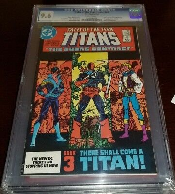 Tales of the Teen Titans #44 1st Jericho & Nightwing CGC 9.6 White Pages