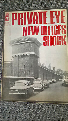 "PRIVATE EYE 6 AUGUST 1976 No 382 ""NEW OFFICES SHOCK"""