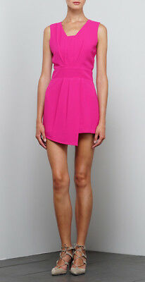 245bb3310bbe NEW WITH TAGS Adelyn Rae Magenta Woven Asymmetrical Romper -  35.00 ...