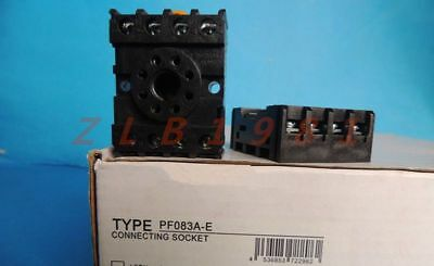 10A Cube Relay with Socket Base PF083A Lot of 5 Omron MK2P-I 120V A//C Coil