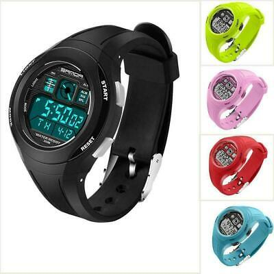 LED Digital Sports Watch Wristwatch For Men Women Unisex Boys Girls Kids HOT