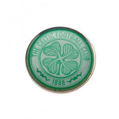 Celtic FC Official Metal Football Crest Pin Badge