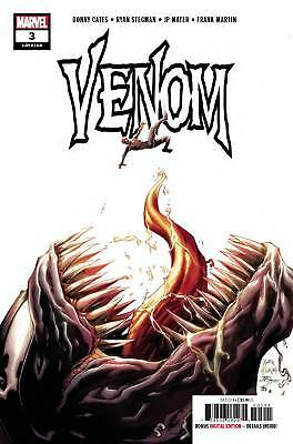 VENOM #3 (MARVEL 2018) CATES/STEGMAN! 1st APP KNULL! 1st PRINT! SOLD OUT!