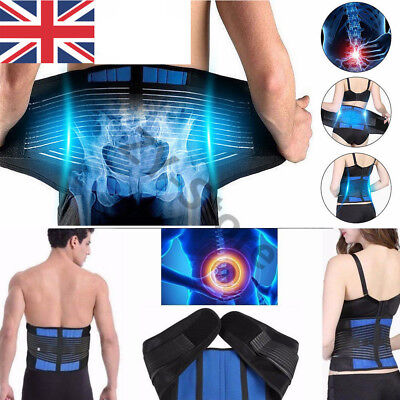 Adjustable Neoprene Double Pull Lumbar Support Pain Relief Lower Back Brace Belt