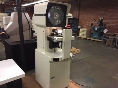"MICRO-VU Model Spectra 14"" Floor Model Optical Comparator & Measuring Machine"