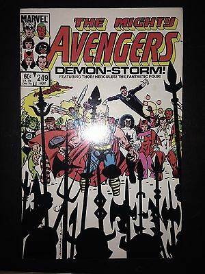The Avengers #249 (Nov 1984, Marvel) FN/VF