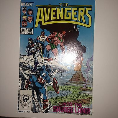 The Avengers #256 (Jun 1985, Marvel) FN+