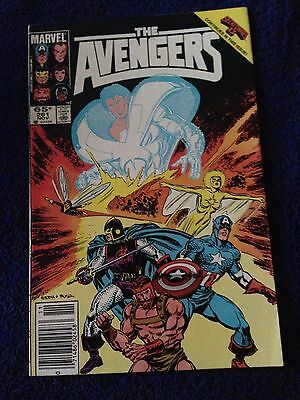 avengers #261 (1985) FN/VF Secret Wars II crossover