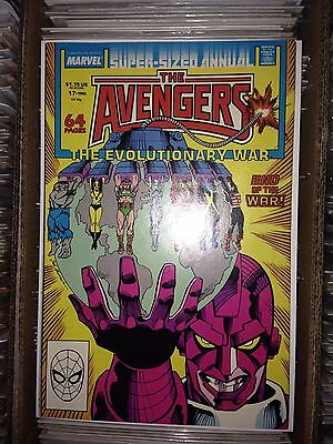 Avengers Annual #17 (1988, Marvel) VF (Evolutionary War climax)