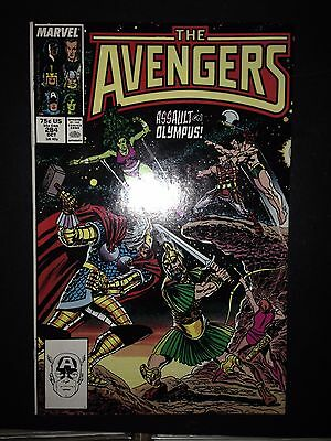 "The Avengers #284 (Oct 1987, Marvel) FN/VF ""War on Olympus"""