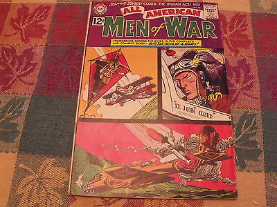 All American Men of War August 1962  #92 Very Good Condition